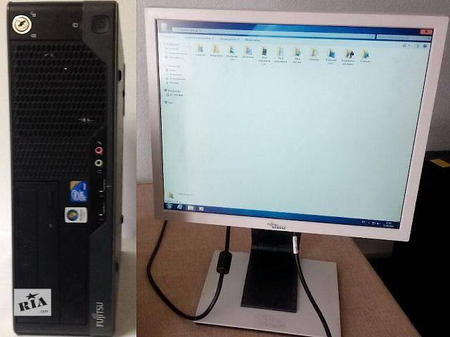 """ФАНТАСТИКА! Компьютер Fujitsu 4 ЯДРА Intel; 6 ГБ RAM + МОНИТОР 19""""- объявление о продаже  в Киеве"""