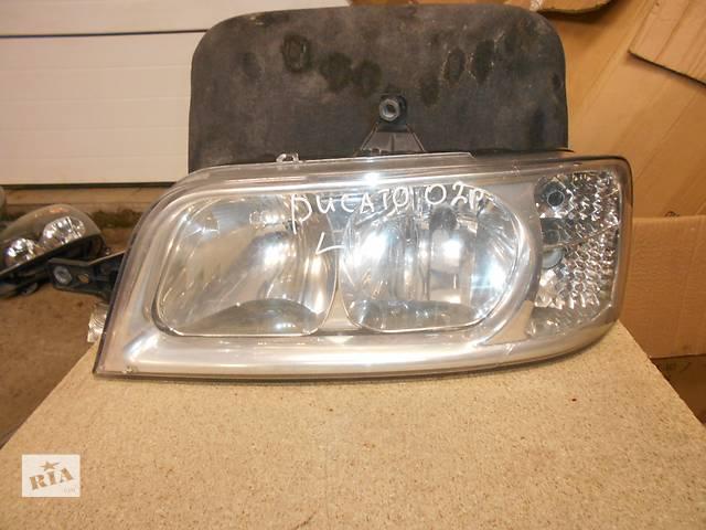продам фара для Fiat Ducato, Boxer 2002-06 бу в Львове