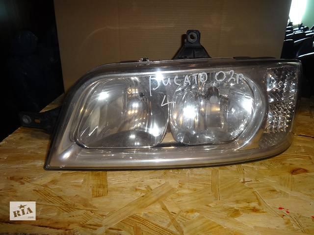купить бу фара для Fiat Ducato, Peugeot Boxer 2002-05 в Львове