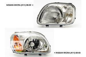 Новые Фары Nissan Micra