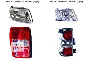 Новые Фары Suzuki Grand Vitara