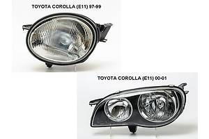Новые Фары Toyota Corolla