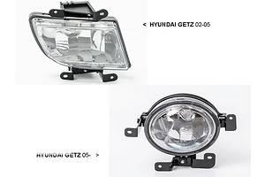 Новые Фары противотуманные Hyundai Getz