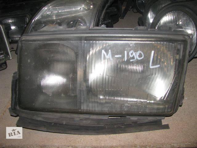Фара левая для Mercedes 190, 1991p.- объявление о продаже  в Львове