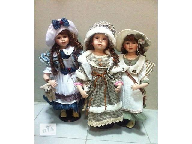 Фарфоровые куклы- объявление о продаже  в Одессе