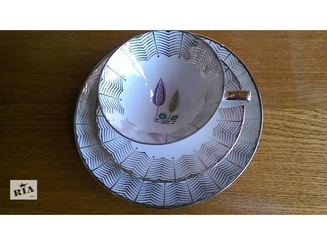 Фарфоровый чайный комплект Германия - объявление о продаже  в Харькове