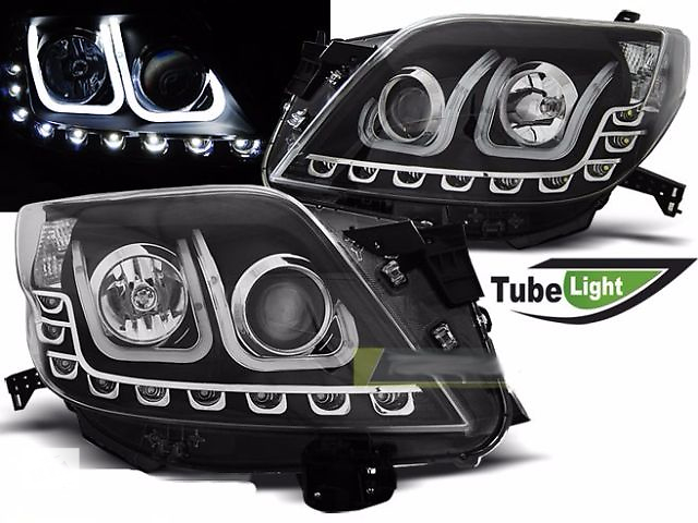 бу Фары, передняя тюнинг оптика Toyota Land Cruiser LC Prado 150 в Луцке