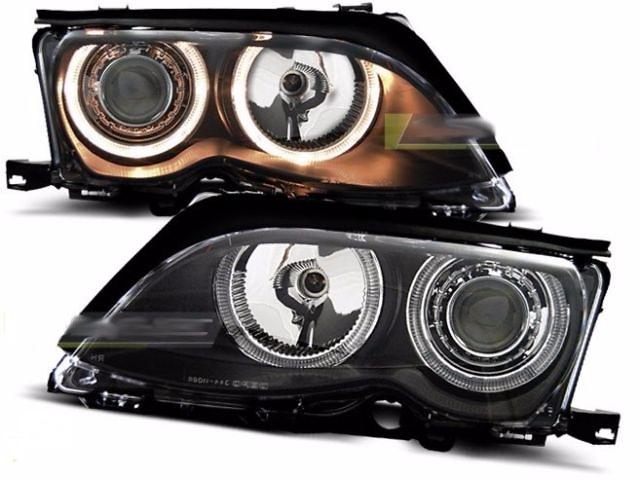 продам Фары передние тюнинг оптика BMW E46 БМВ Е46 (LPBM86) бу в Луцке