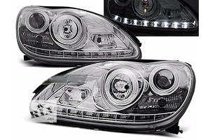 Новые Фары Mercedes S-Class
