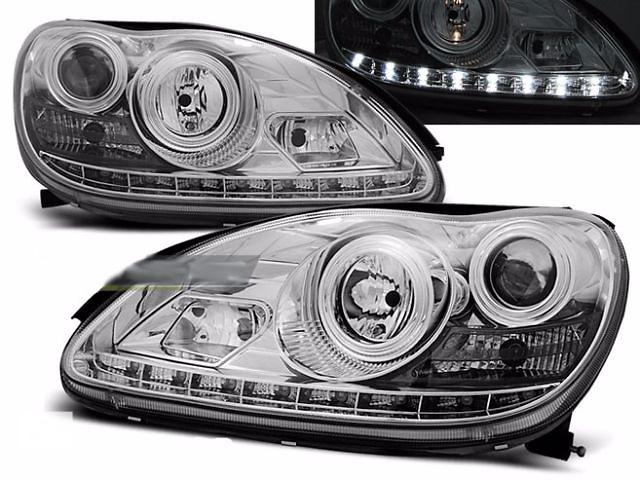 бу Фары, тюнинг оптика Mercedes-Benz W220 (LPME51) в Луцке