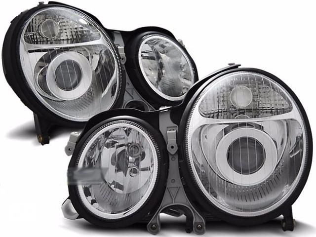 купить бу Фары, тюнинг оптика Mercedes W210 (LPME04) в Луцке