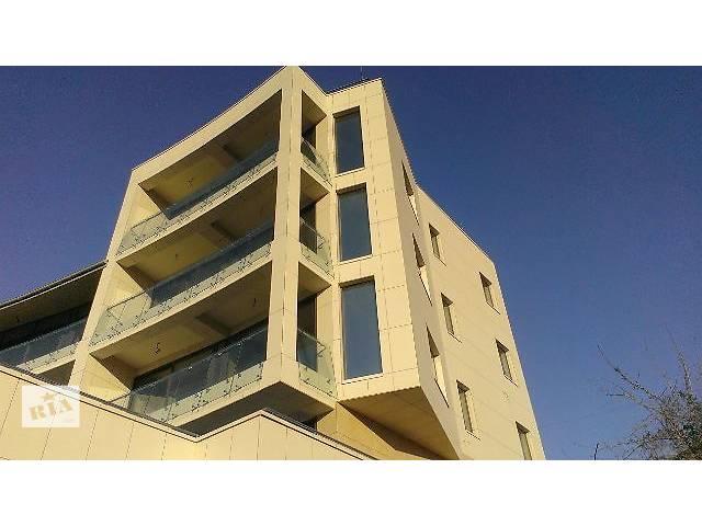 купить бу Фасадные работы. Светопрозрачный фасад, вентилируемый фасад от специализированной строительной компании АЛ-ХЕККА  в Украине