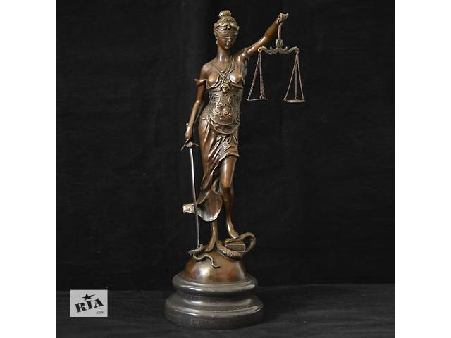 бу Фемида богиня правосудия в Харькове