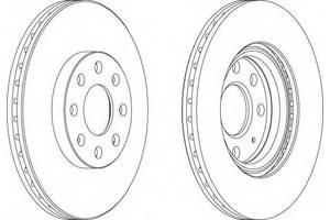Тормозной диск Fiat