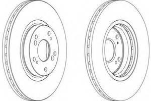 Тормозной диск Honda