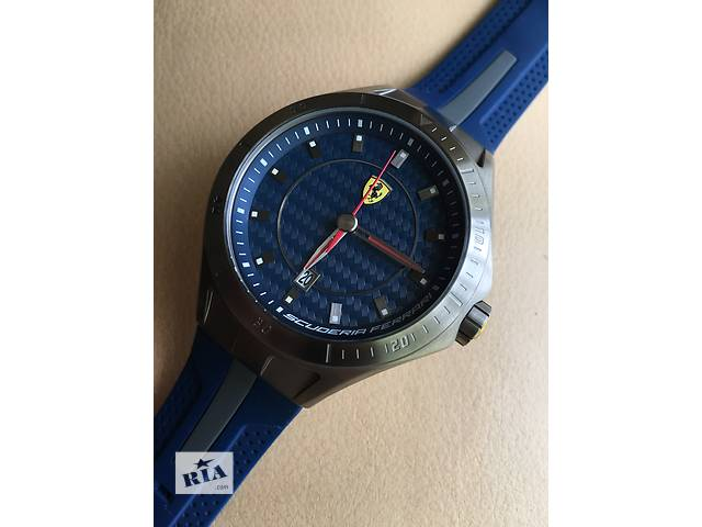 продам Ferrari Scuderia Race Day Blue Dial Blue and Grey Silicone бу в Киеве