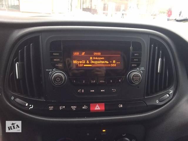 Fiat Doblo 2015 автомагнитола- объявление о продаже  в Львове