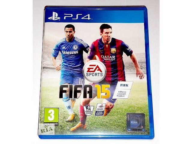 купить бу FIFA 15 для PS4 диск / русский / в наличии в Запорожье