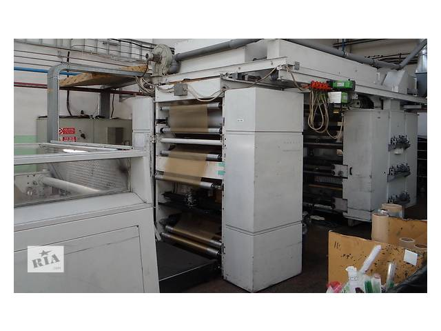купить бу Флексографская печатная машина Италия 2003г. в Черкассах