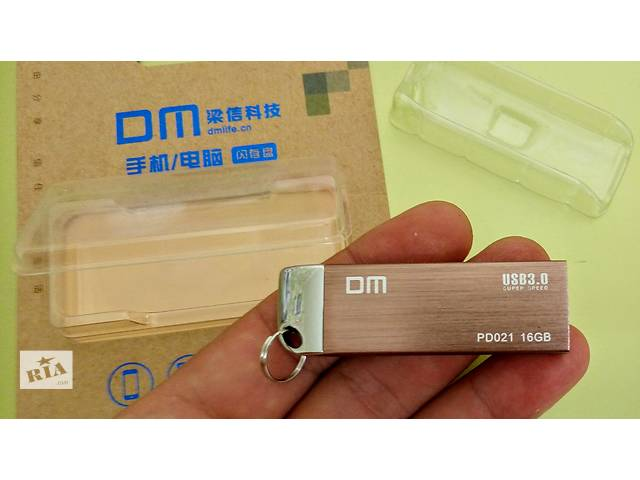 Флешка новая DM 16 Гб USB 3.0 металлический корпус- объявление о продаже  в Светловодске