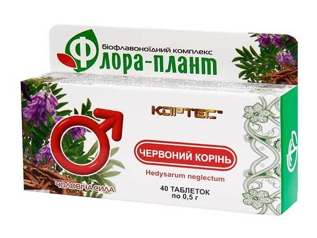 бу Флора-плант  Червоний корінь -  природный стимулятор мужской активности в Киеве