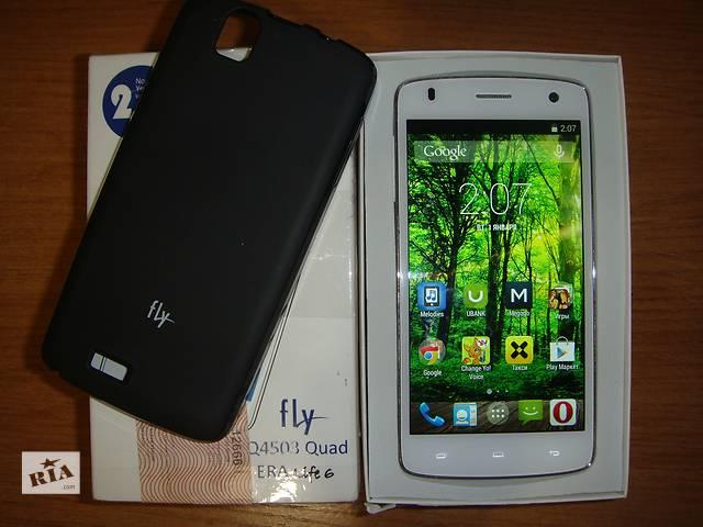 купить бу Fly IQ4503 (white) в Киеве