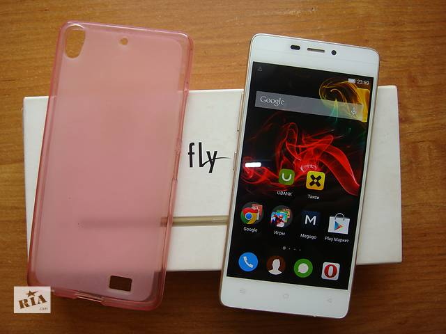 бу Fly IQ4516 Octa Tornado Slim (white) в Киеве