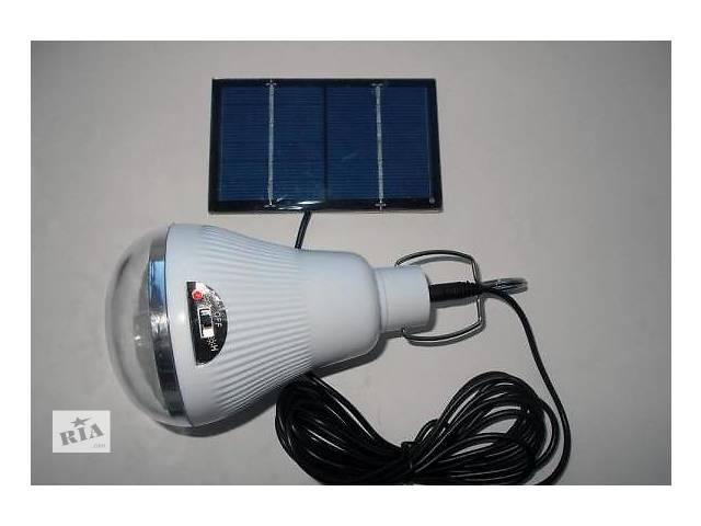 бу Фонарь LED Светильник Solar Led Light GR-020 + солнечная панель  в Одессе