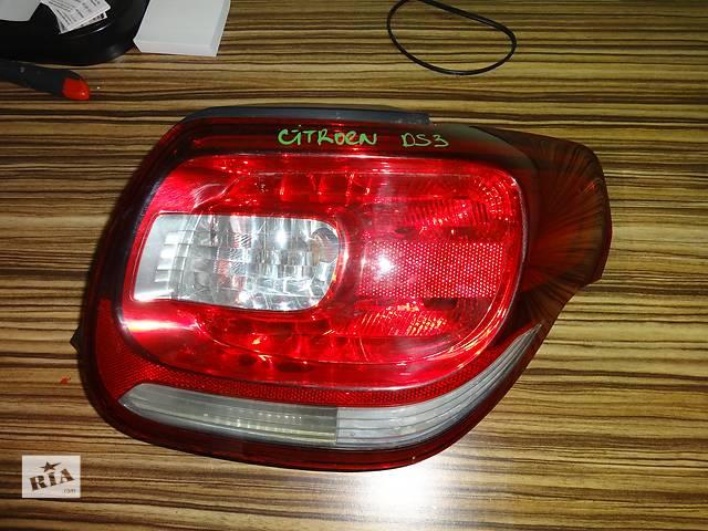 фонарь задний для Citroen DS3 2009- объявление о продаже  в Львове