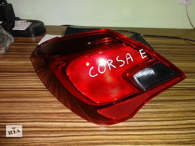 купить бу фонарь задний для хэтчбека Opel Corsa E 2015 в Львове