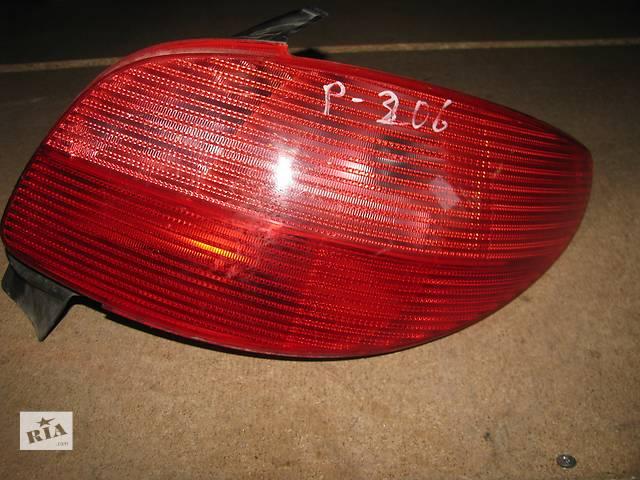 продам  фонарь задний для хэтчбека Peugeot 206 1998-03 бу в Львове