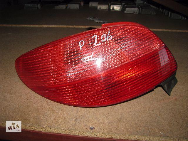 купить бу фонарь задний для хэтчбека Peugeot 206, 2000-04 в Львове