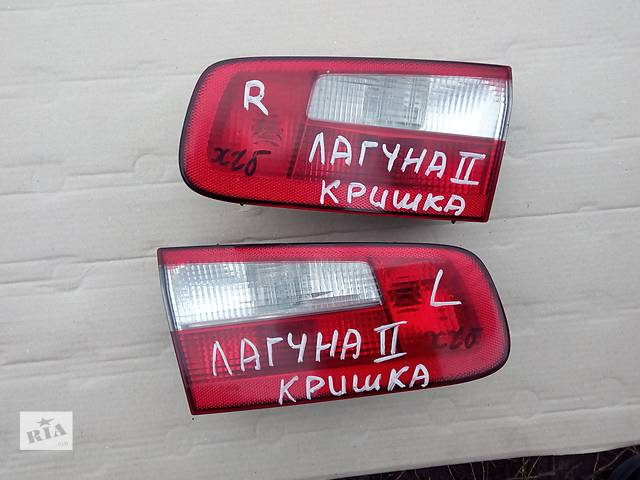 купить бу фонарь задний для хэтчбека Renault Laguna 2003 в Львове