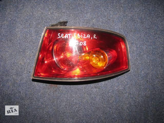 бу фонарь задний для хэтчбека Seat Ibiza 2003-08 в Львове