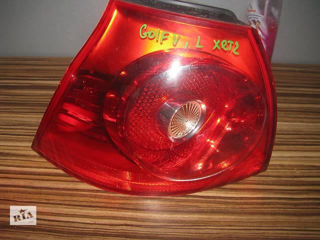 купить бу фонарь задний для хэтчбека Volkswagen Golf V 2004-08 в Львове