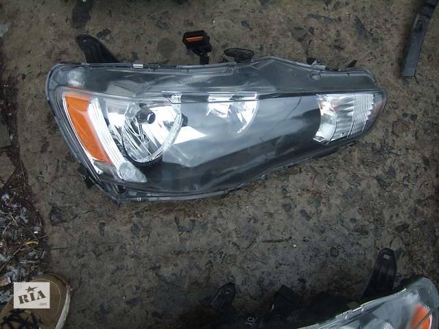 купить бу Б/у Фара для легкового авто Mitsubishi Lancer X в Ровно