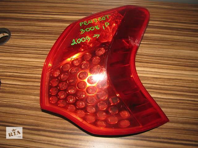 фонарь задний для Peugeot 3008 2009-14- объявление о продаже  в Львове