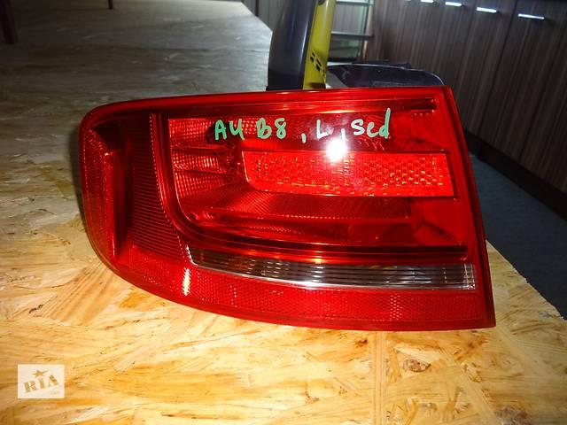 купить бу фонарь задний для седана Audi A4 B8 2010 в Львове