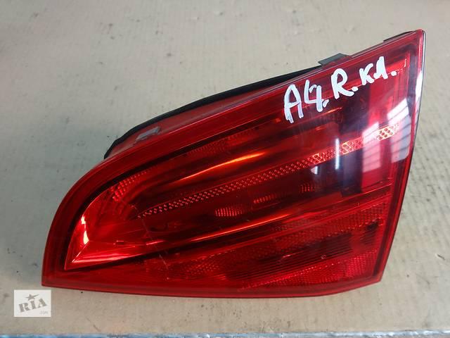 купить бу фонарь задний для универсала Audi A4 B8 2008-11 в Львове