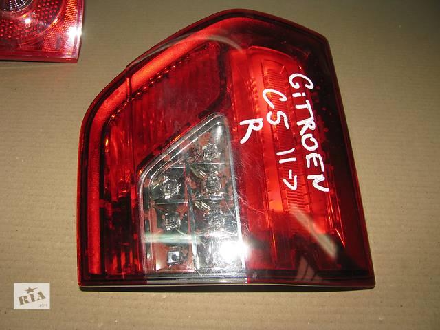 бу фонарь задний для универсала Citroen C5 2011 в Львове