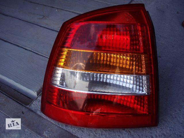 Фонарь задний, фара Opel Astra хечбек б/у.- объявление о продаже  в Кременчуге