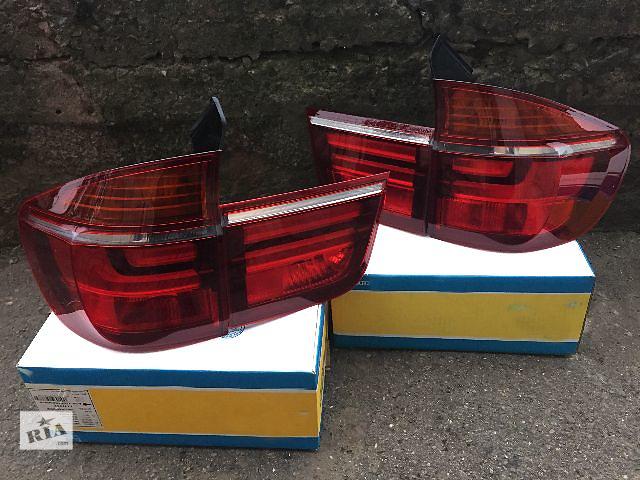 купить бу Фонари рестайлинг BMW X5 E70 новые оригинал LCI стопы рестайлинговые фонари левый правый в Луцке