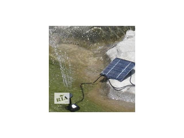 Фонтан - насос на солнечной батарее 7В 0,7М 150л/ч- объявление о продаже  в Южном