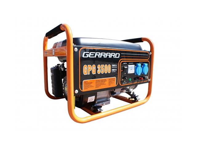 продам генератор GERRARD GPG3500 Электрогенератор бу в Кропивницком (Кировоград)