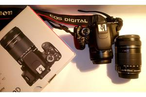 Зеркальные фотоаппараты Canon EOS 600D Kit (18-135 IS)