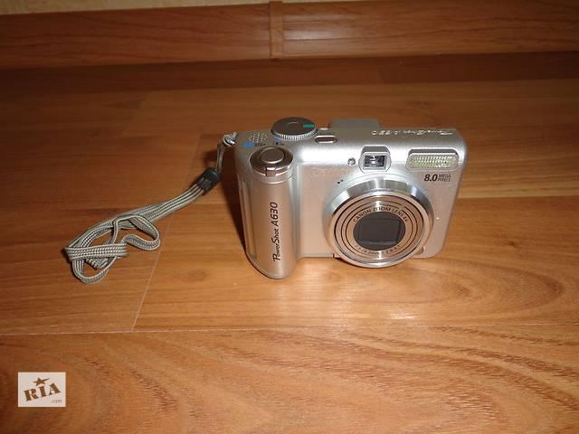 купить бу Фотоаппарат Canon PoweShot A630 в Николаеве