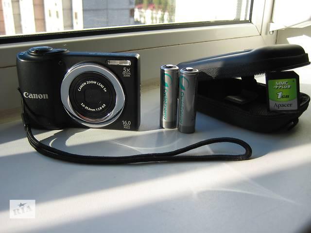 продам Фотоаппарат (фотокамера) Canon PowerShot A810, б/у, в идеальном состоянии. бу в Киеве