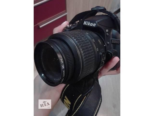 Фотоаппарат Nikon D 3100 + сумка и зарядное устройство- объявление о продаже  в Виннице