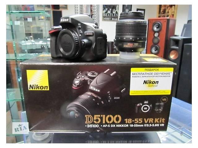 купить бу Фотоаппарат Nikon D5100\18-55VR в Трускавце