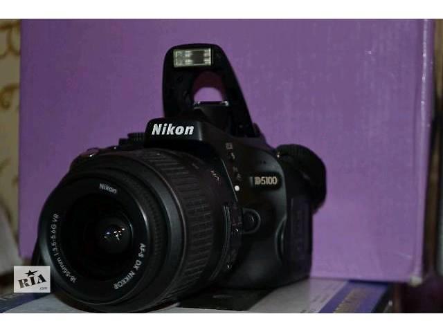 купить бу Фотоаппарат Nikon D5100 в Тернополе